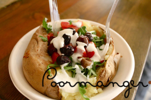 Poormanger – l'insolita declinazione della patata al forno