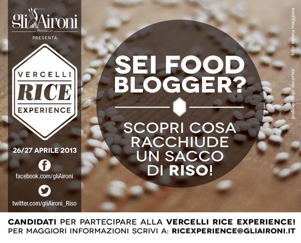 GNAM! gliAironi Vercelli Rice Experience