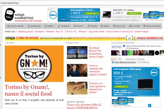 Intervista a GNAM! su Ninja Marketing