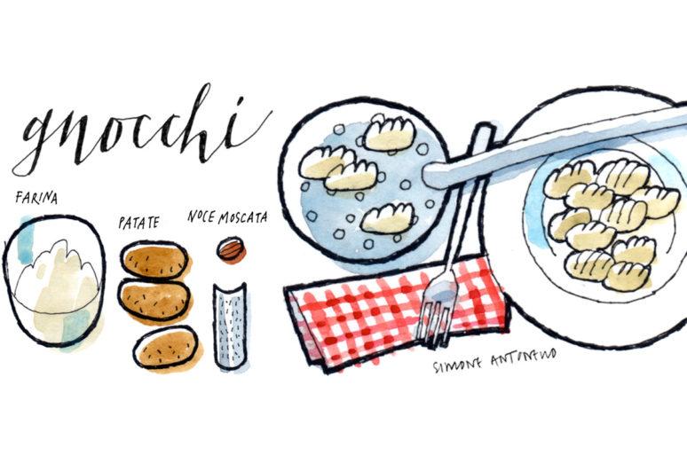 Ricette illustrate – Gli gnocchi