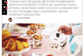 Le VINTAGE BREAKFAST su Vanity Fair!